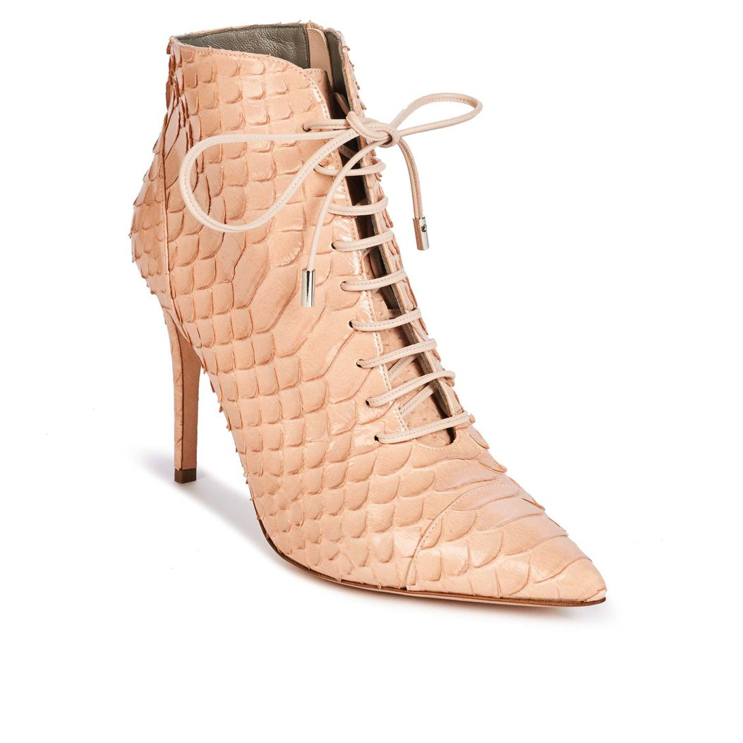 AIMEE in Rose Varnish Python GINA Boots #3