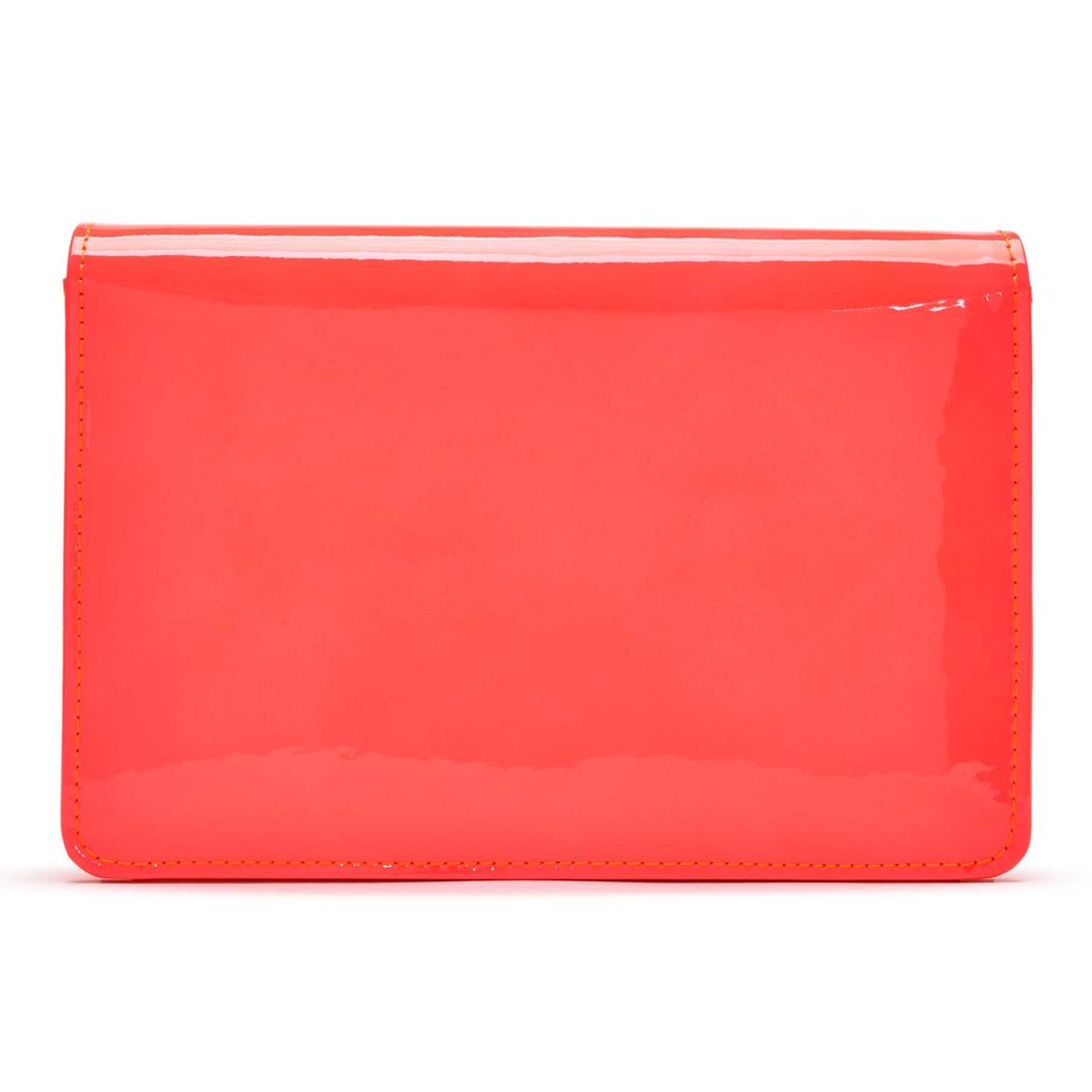 MAYFAIR in Orange Fluopatent GINA Bags #2