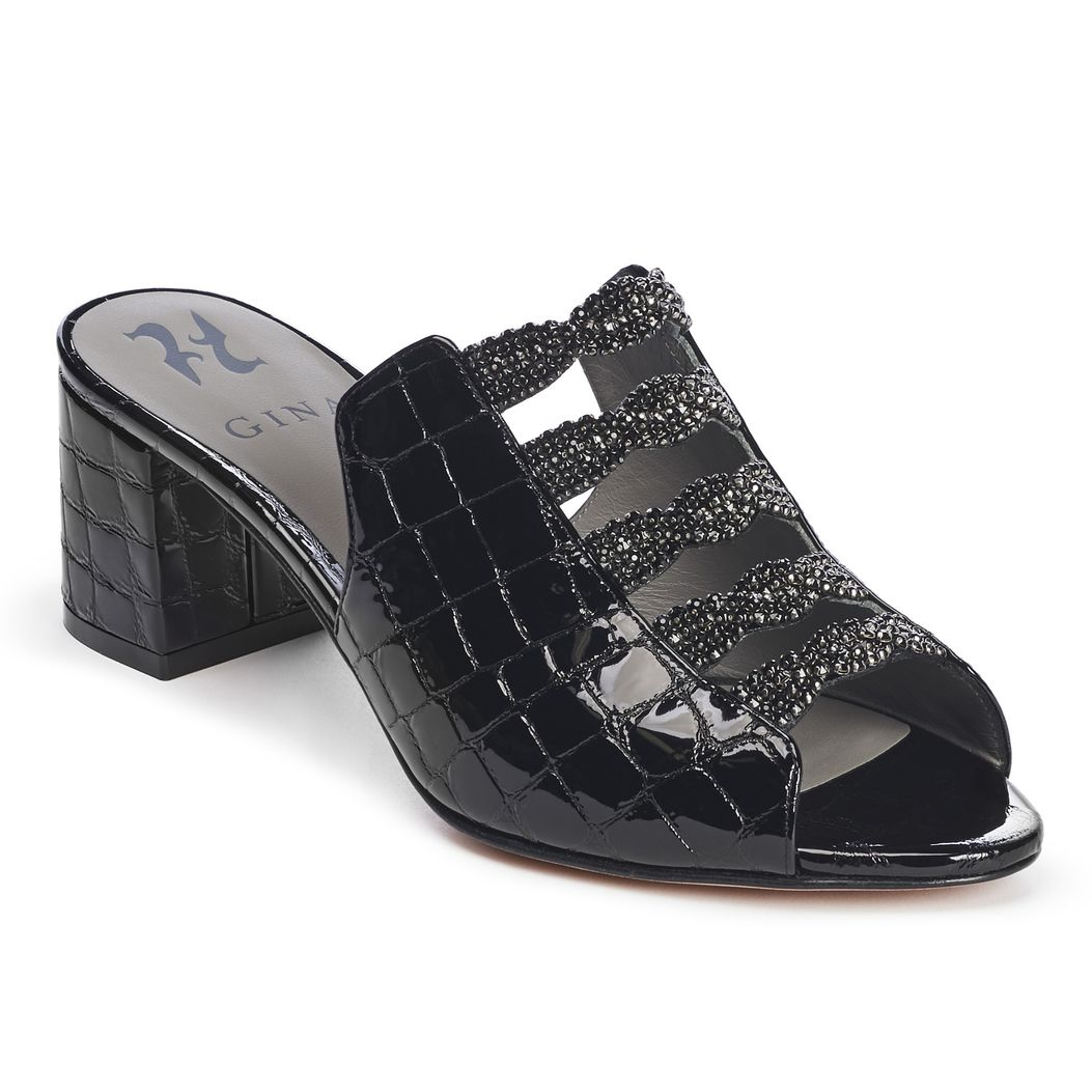 COSMOS in Black Louis GINA Sandals #2