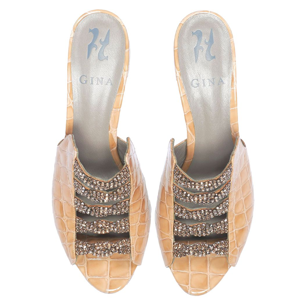 COSMOS in Nude Louis GINA Sandals #3