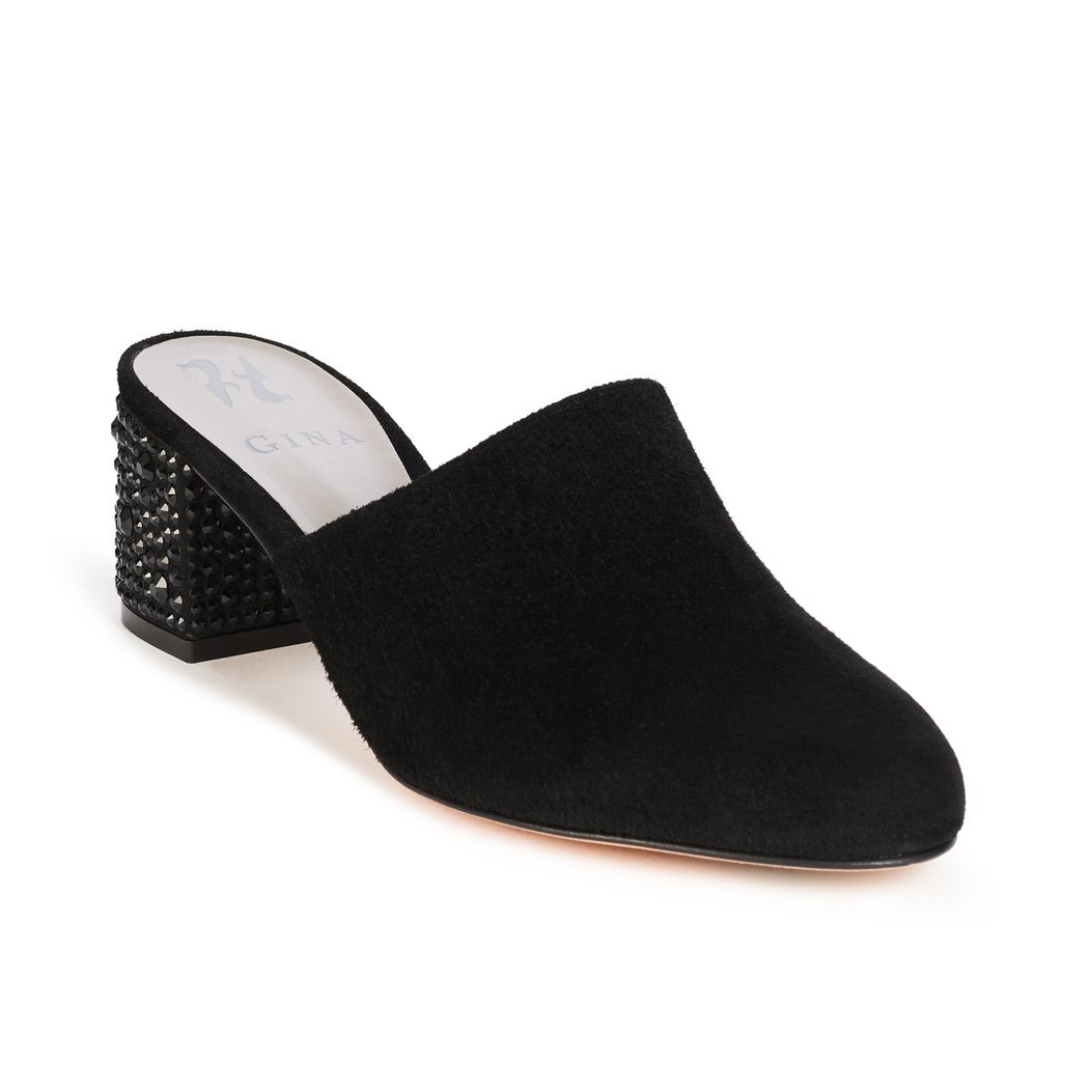 OPIE in Black Suede GINA Courts #2
