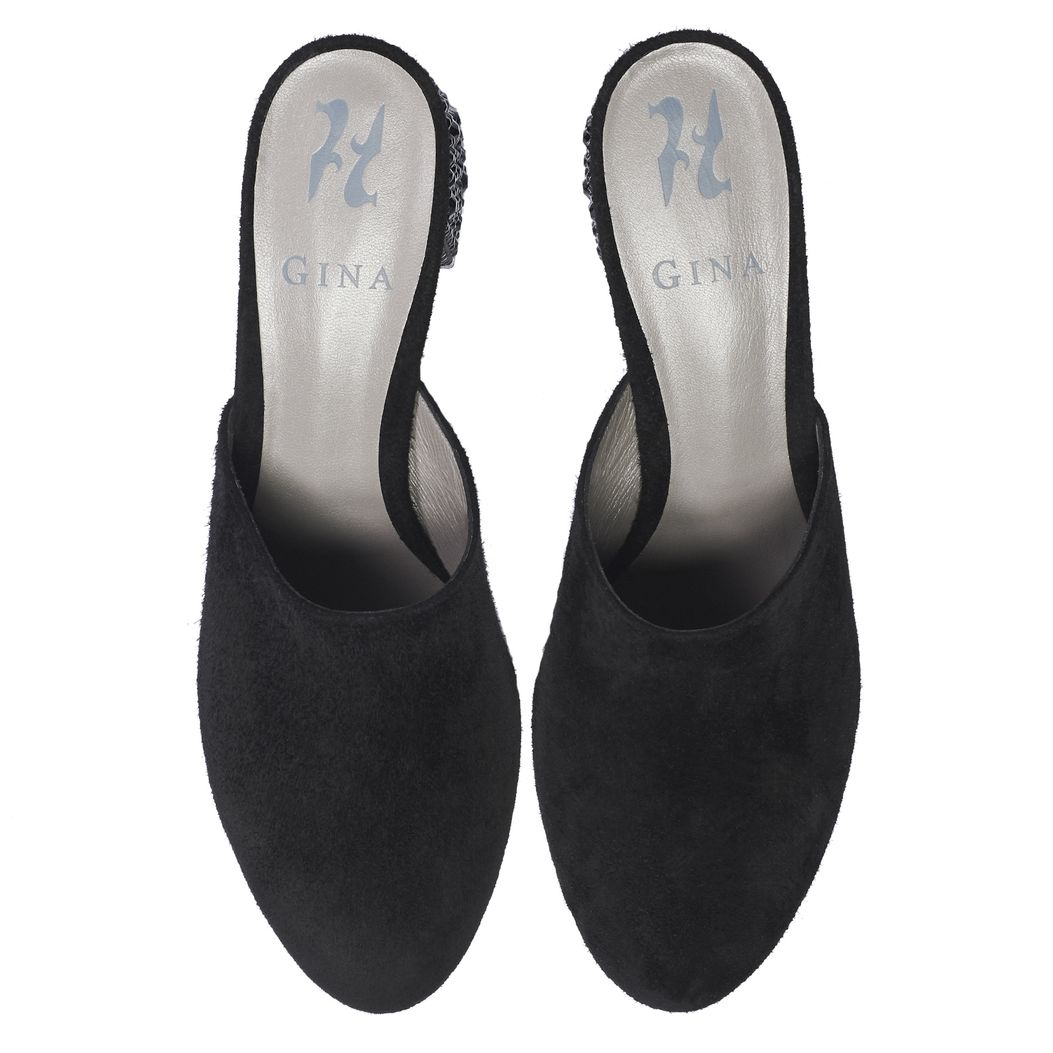 OPIE in Black Suede GINA Courts #3