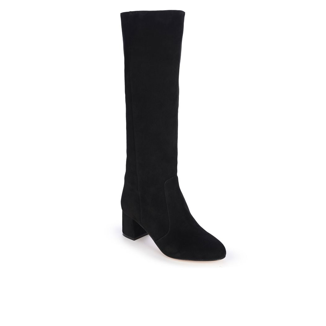 CHELSEA in Black Suede GINA Boots #2