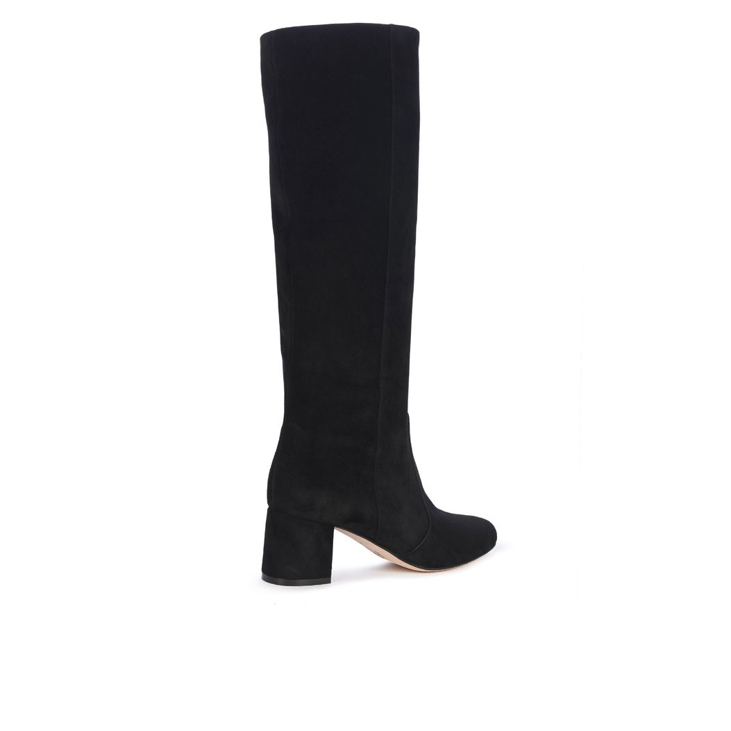 CHELSEA in Black Suede GINA Boots #3