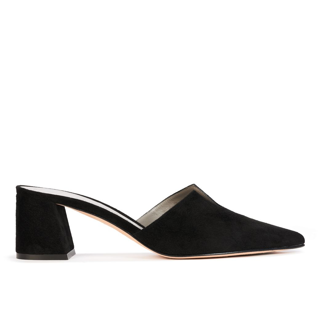 FOSTER in Black Suede