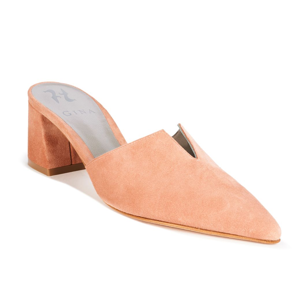 FOSTER in Rose Suede GINA Courts #2