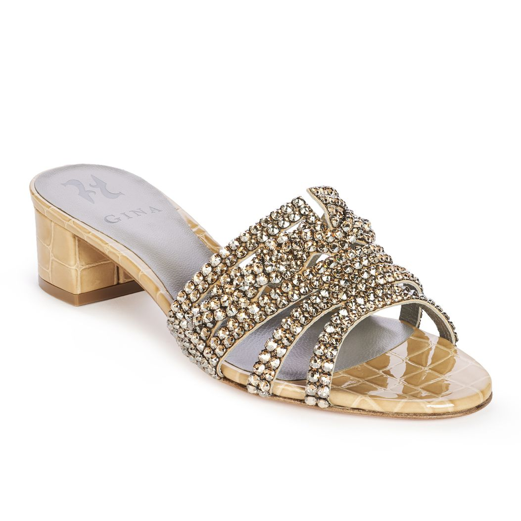 RODEO in Nude Louis GINA Sandals #2