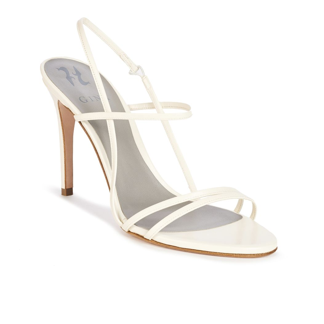 FOLLIES in Ivory Leather GINA Bridal #2
