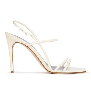 FOLLIES in Ivory Leather